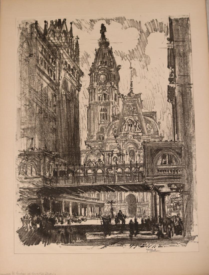 Six Assorted Prints, Joseph Pennell - 2