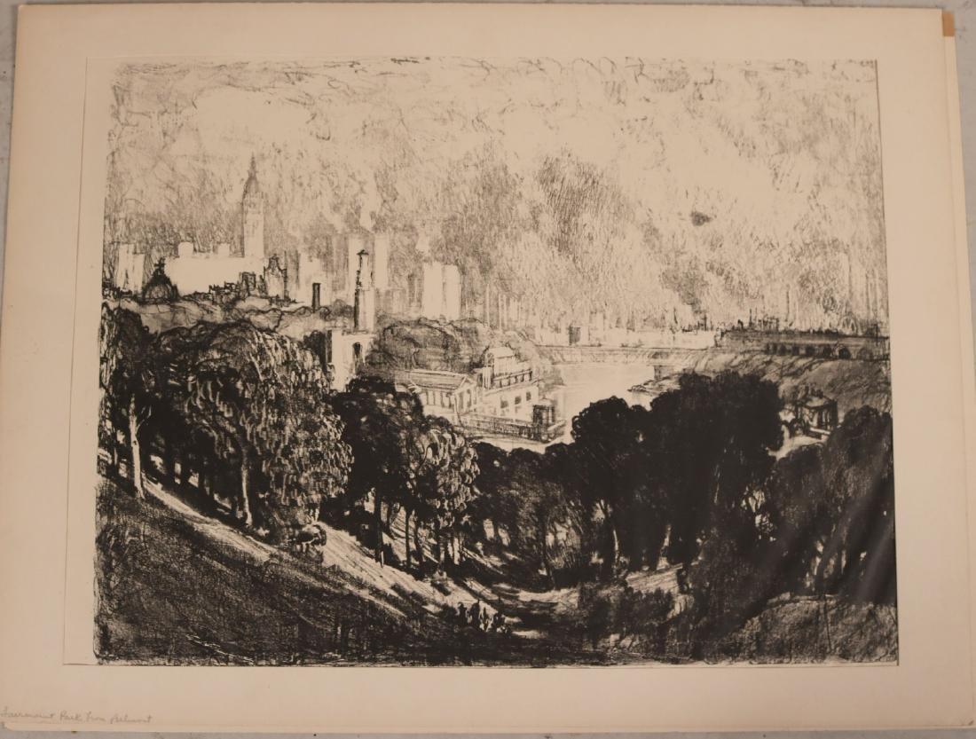 Six Assorted Prints, Joseph Pennell - 3