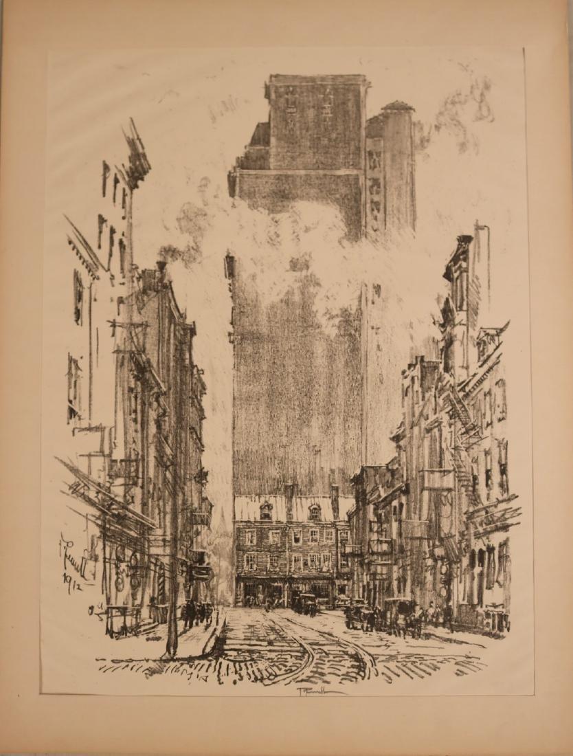 Six Assorted Prints, Joseph Pennell - 4