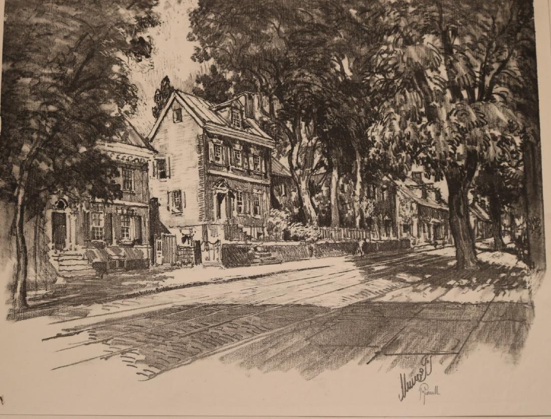 Six Assorted Prints, Joseph Pennell - 6