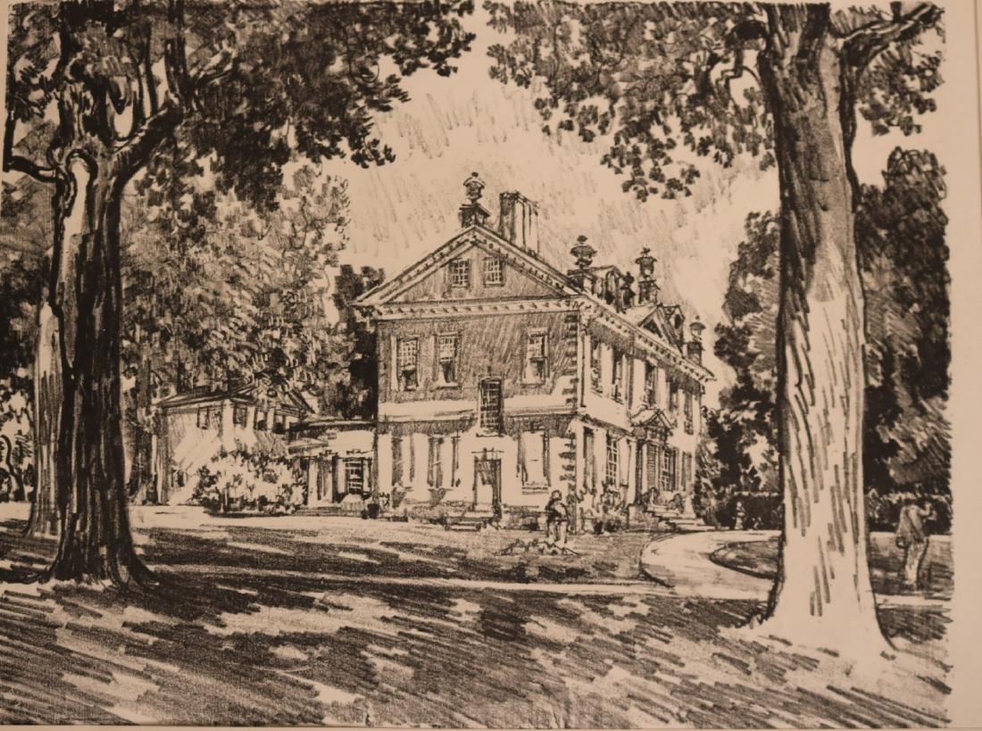 Six Assorted Prints, Joseph Pennell - 7