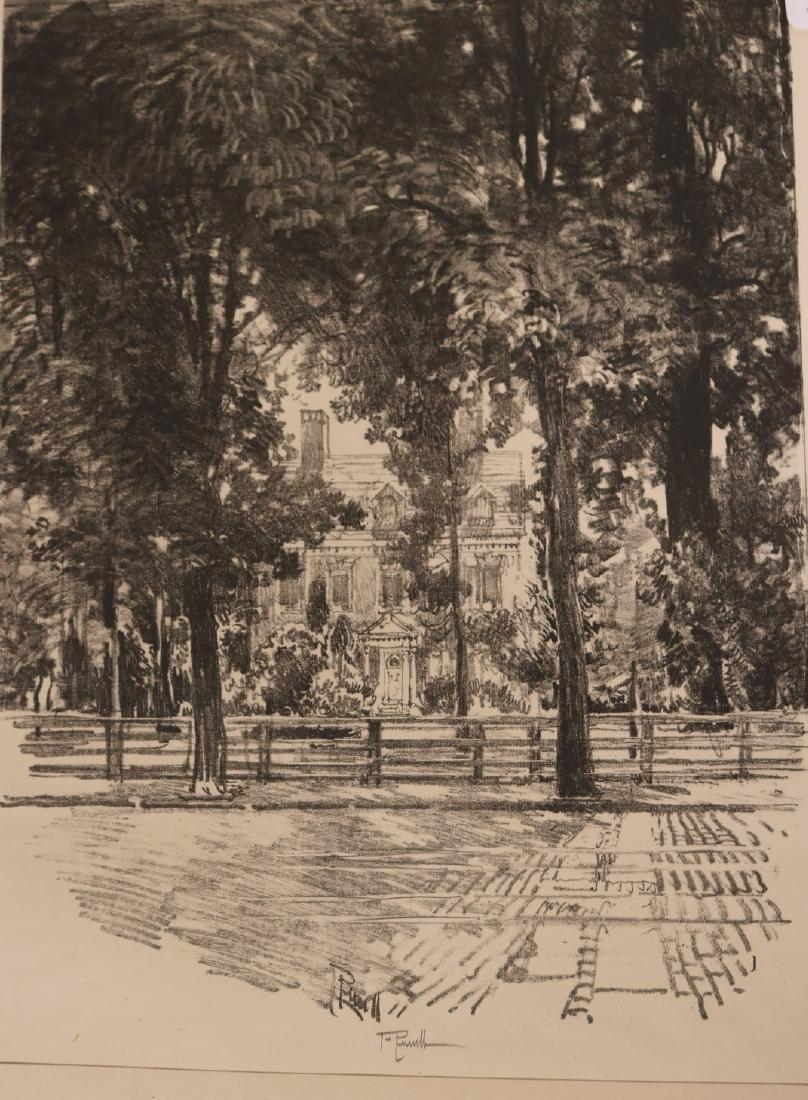 Six Assorted Prints, Joseph Pennell - 8