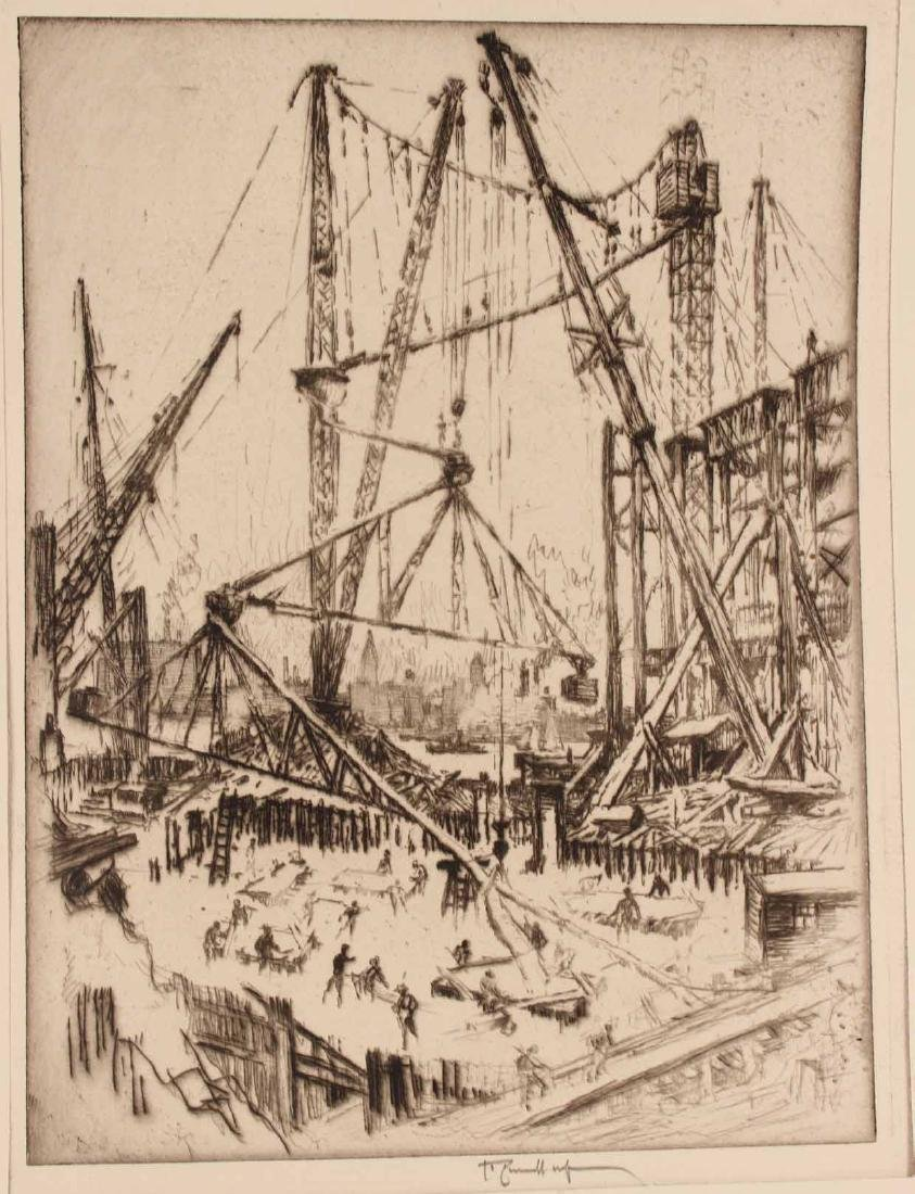 Three Engravings By Joseph Pennell - 2