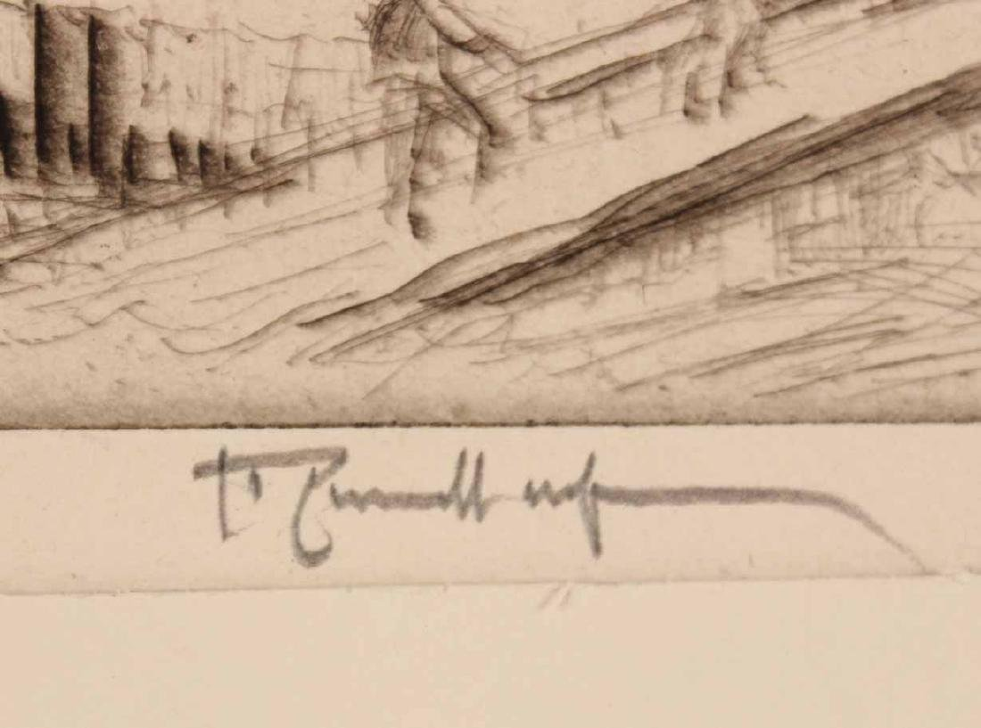 Three Engravings By Joseph Pennell - 4