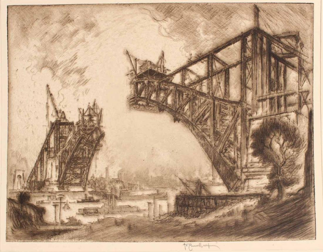 Three Engravings By Joseph Pennell - 5