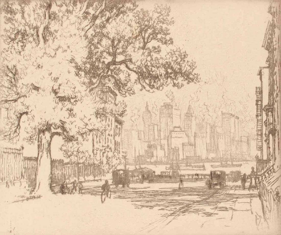 Three Engravings By Joseph Pennell - 7
