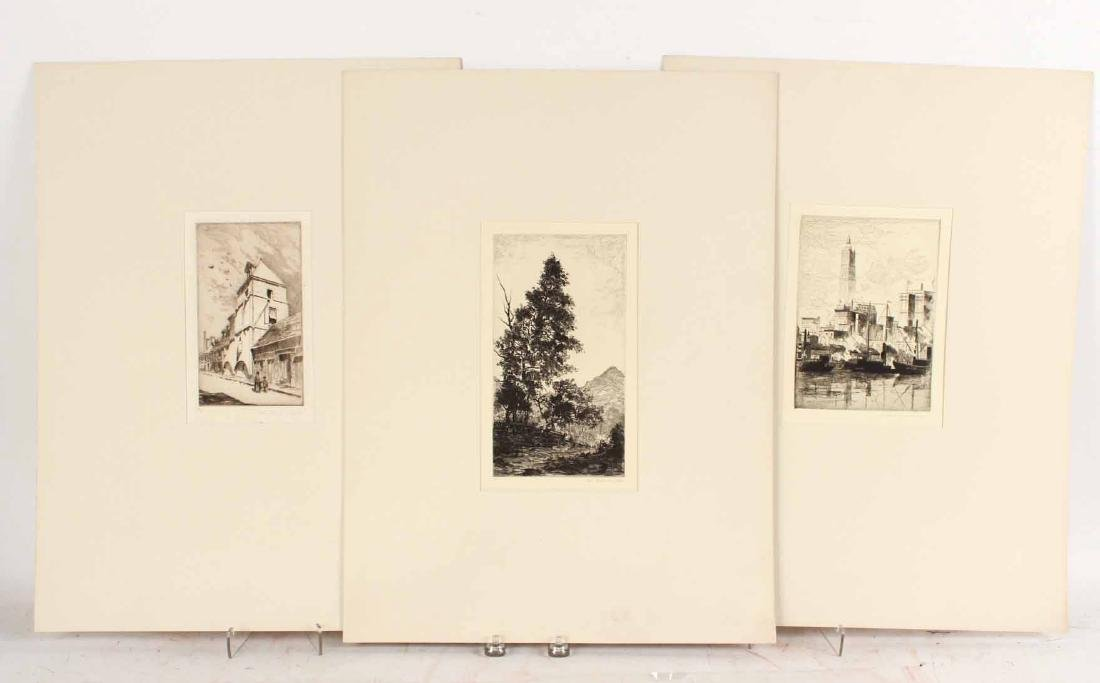 Three Engravings By John Taylor Arms