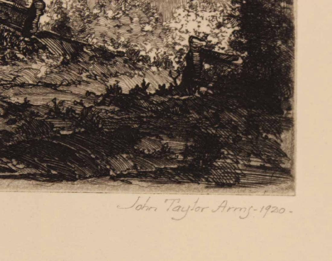 Three Engravings By John Taylor Arms - 3