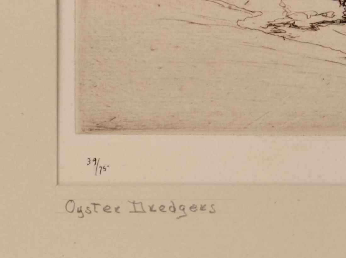 "Engraving Titled ""Joy Ride"" By Edmund Blampied - 10"