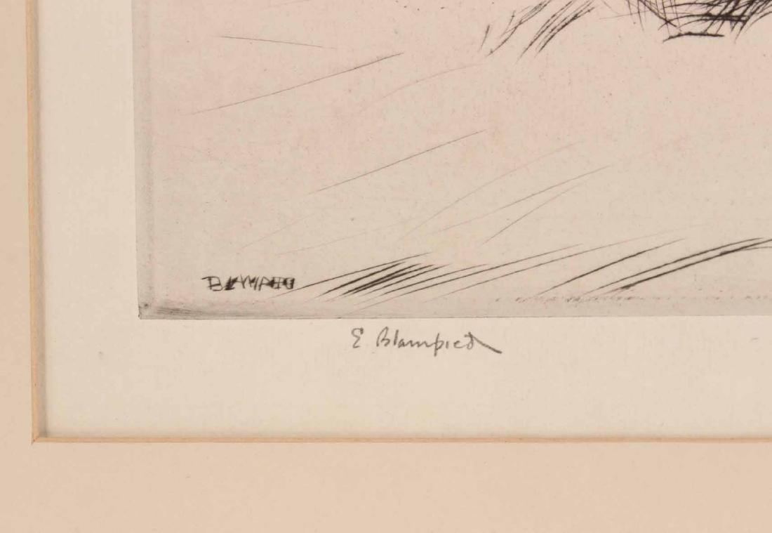 "Engraving Titled ""Joy Ride"" By Edmund Blampied - 4"