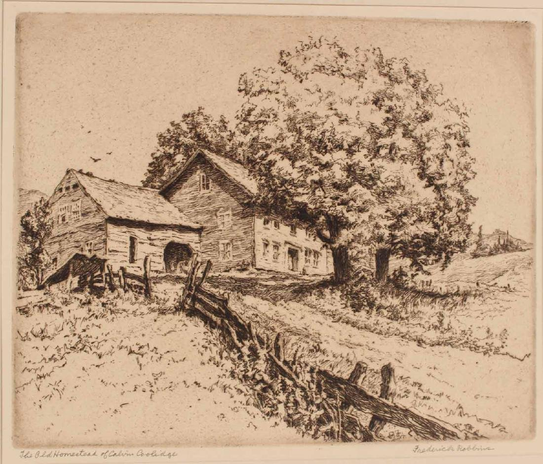 "Engraving Titled ""Joy Ride"" By Edmund Blampied - 5"