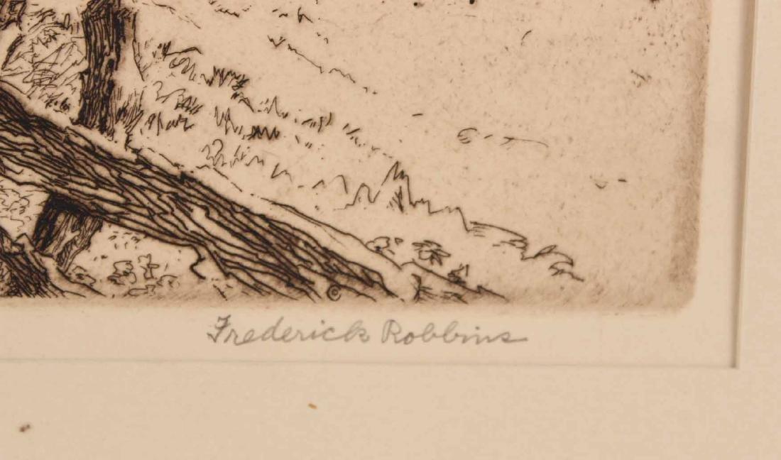 "Engraving Titled ""Joy Ride"" By Edmund Blampied - 7"