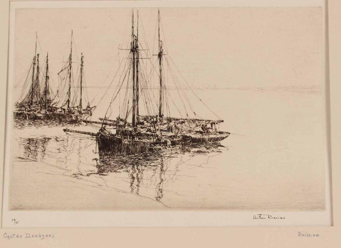 "Engraving Titled ""Joy Ride"" By Edmund Blampied - 8"