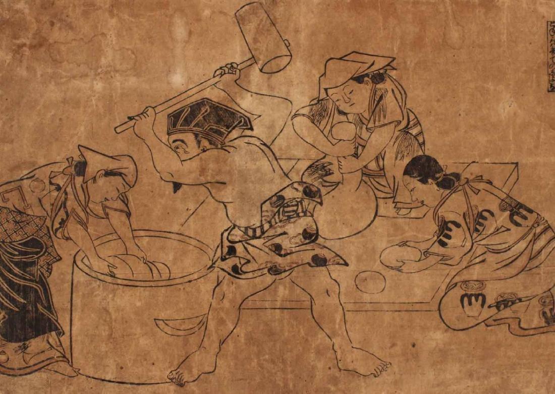 Six Japanese Woodblock Prints - 6