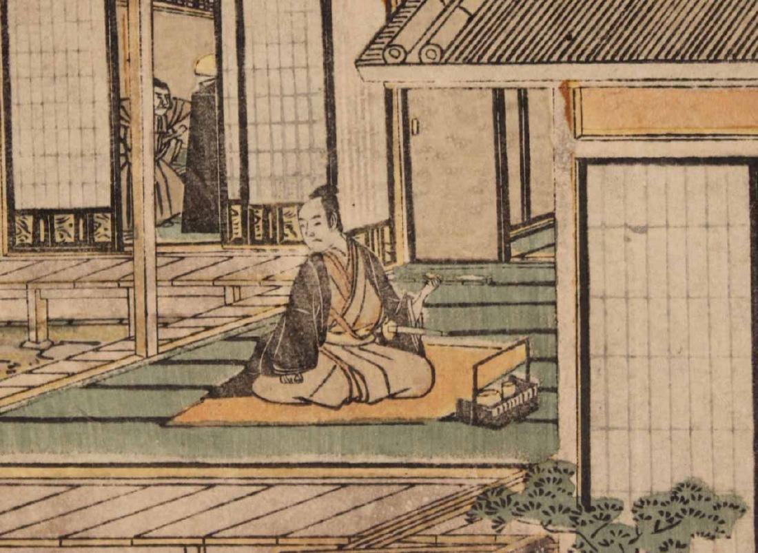 Six Japanese Woodblock Prints - 8