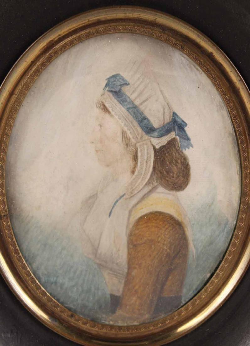 Portrait Miniature of Mrs. Nancy M. Handy - 2