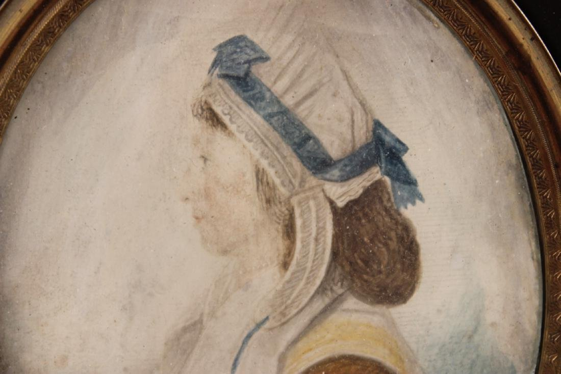 Portrait Miniature of Mrs. Nancy M. Handy - 4