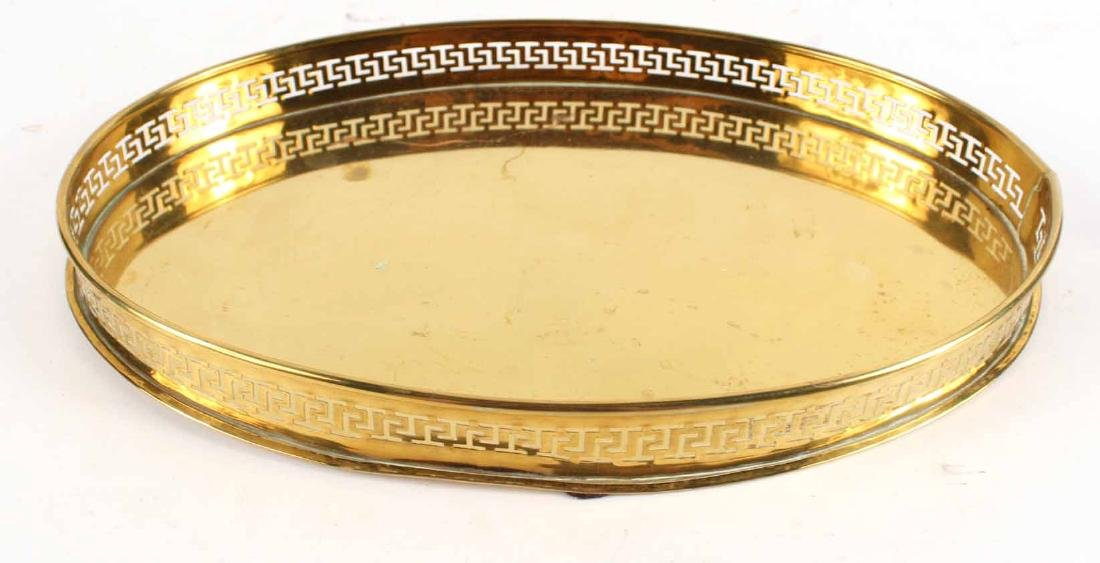 Three Brass Trays - 6