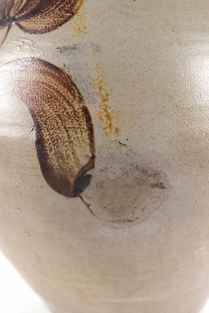 Ochre-Decorate Salt-Glazed Stoneware Jug - 5