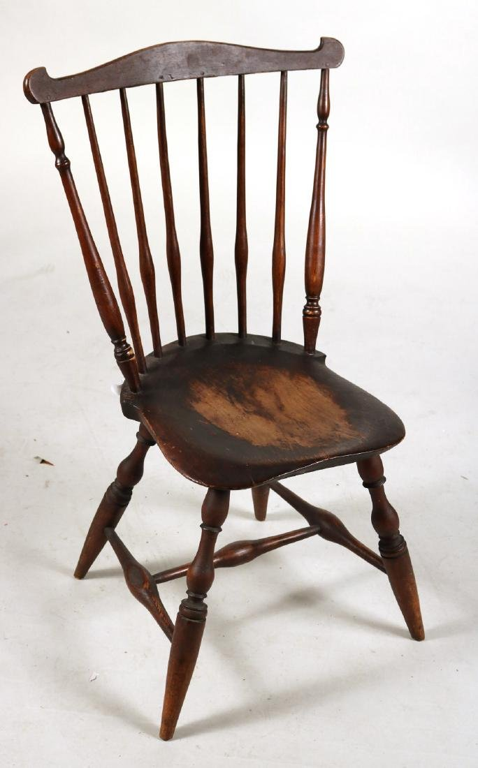 Pair of Fan-Back Windsor Side Chairs - 2