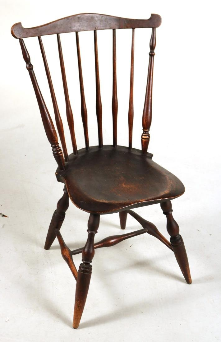 Pair of Fan-Back Windsor Side Chairs - 6