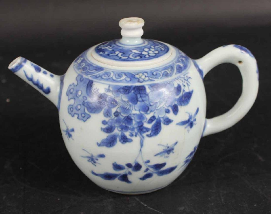 "Chinese Export ""Hatcher Cargo"" Teapot and Cover"