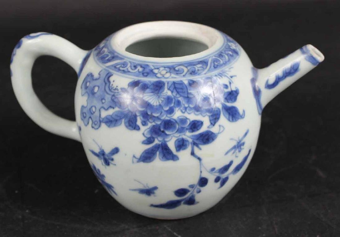 "Chinese Export ""Hatcher Cargo"" Teapot and Cover - 4"