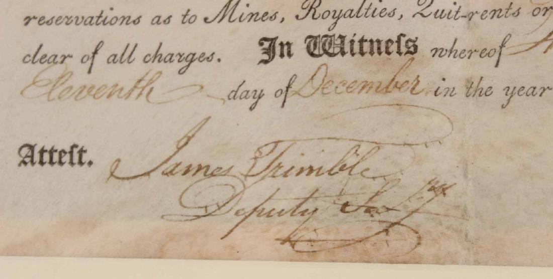 Partially Printed Document, Thomas Mifflin - 5