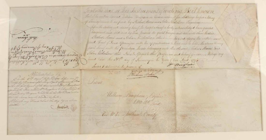 Partially Printed Document, Thomas Mifflin - 6