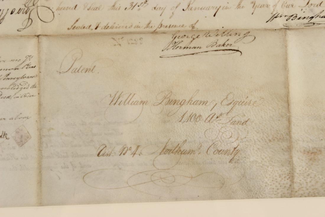 Partially Printed Document, Thomas Mifflin - 7