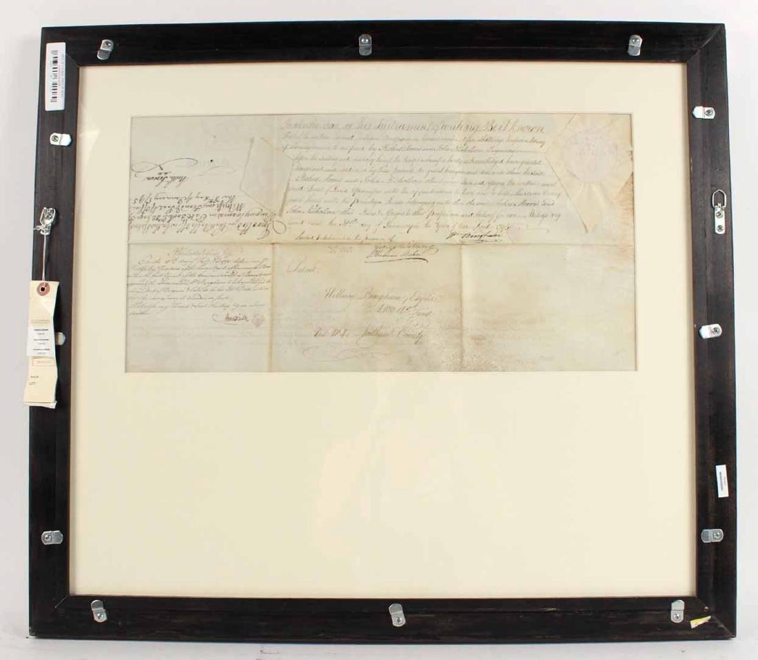 Partially Printed Document, Thomas Mifflin - 8