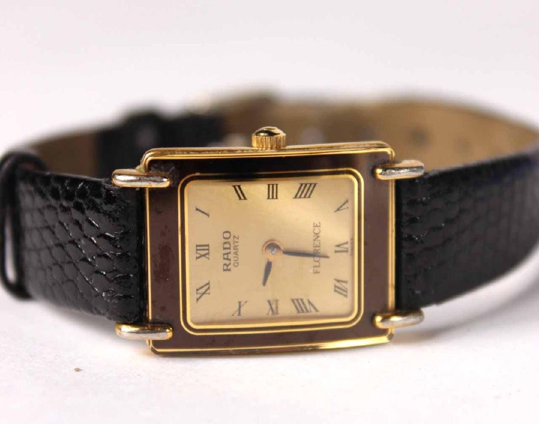 Rado Stainless Steel Ladies Quartz Wristwatch - 7