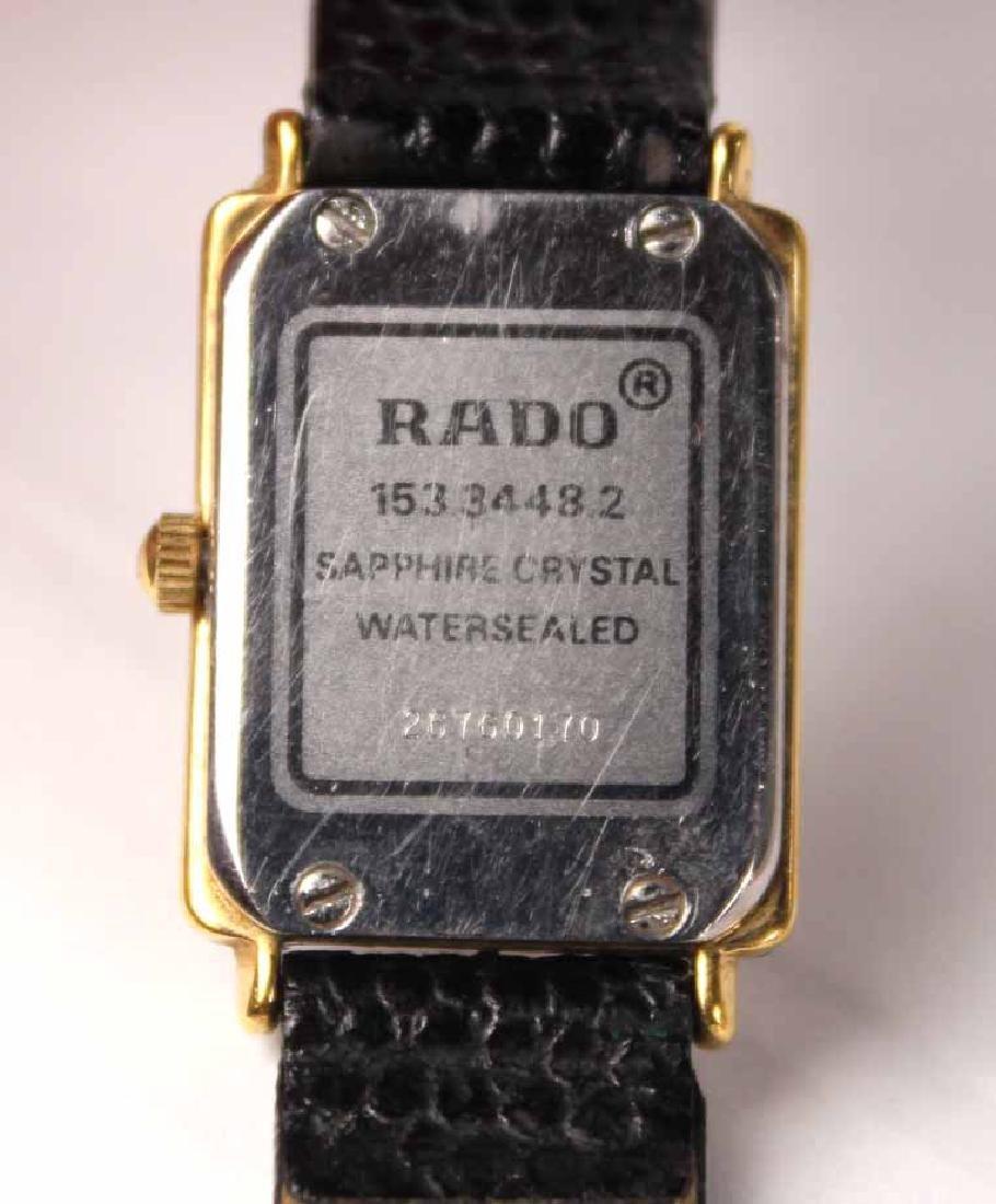 Rado Stainless Steel Ladies Quartz Wristwatch - 8