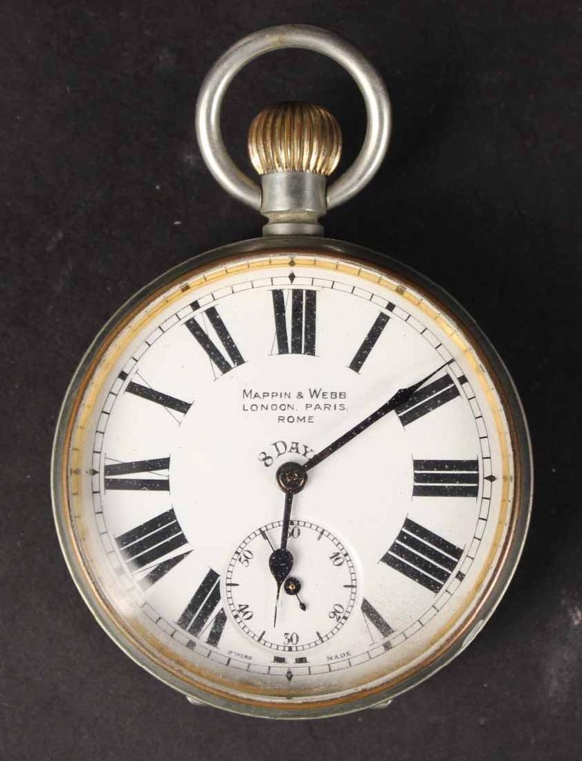 Mappin & Webb London Paris Argentina Pocket Watch