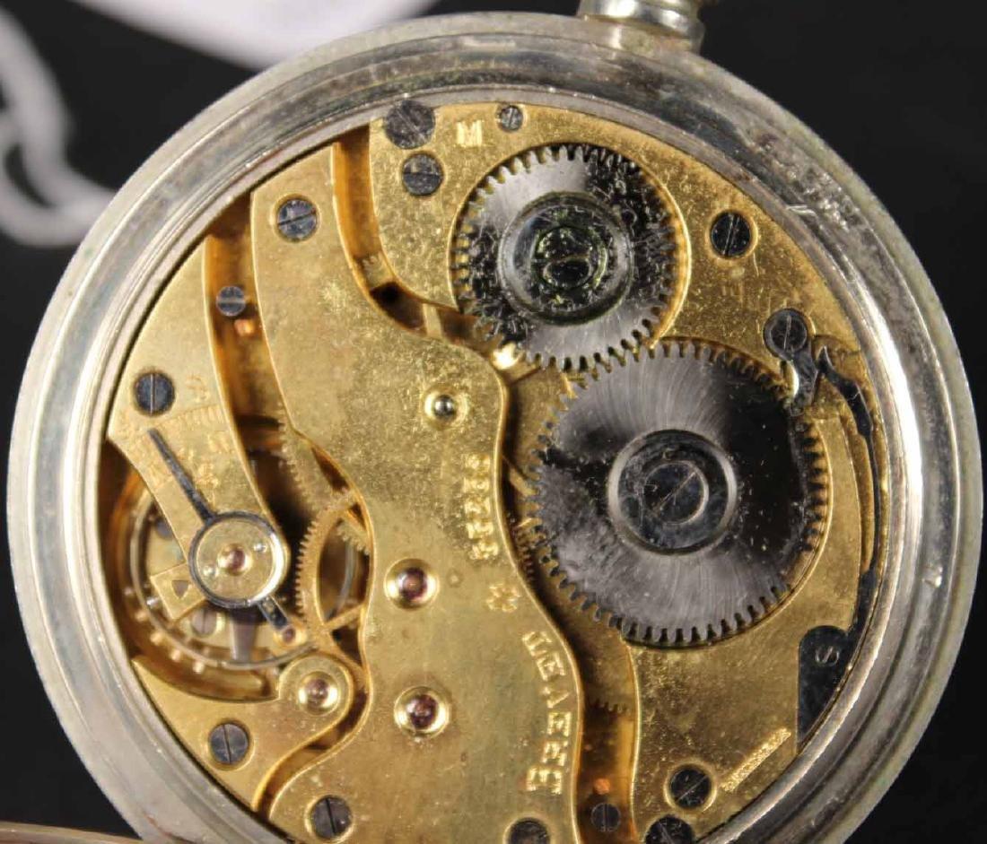 Mappin & Webb London Paris Argentina Pocket Watch - 5