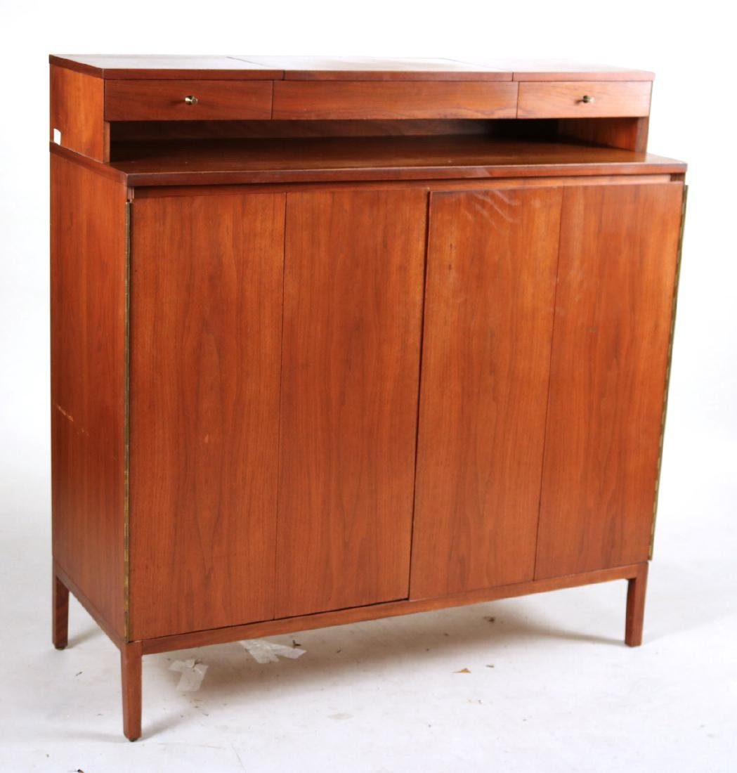 Modern Walnut Cabinet