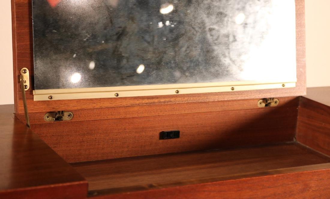 Modern Walnut Cabinet - 4