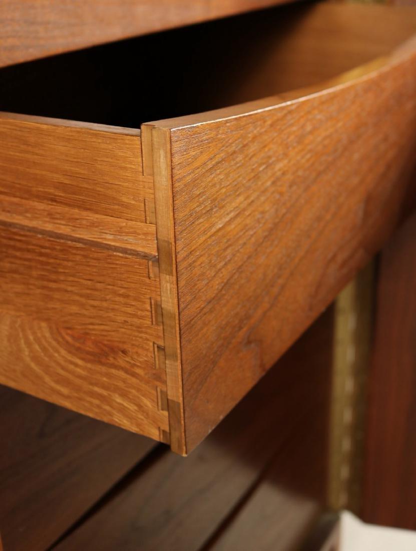 Modern Walnut Cabinet - 6
