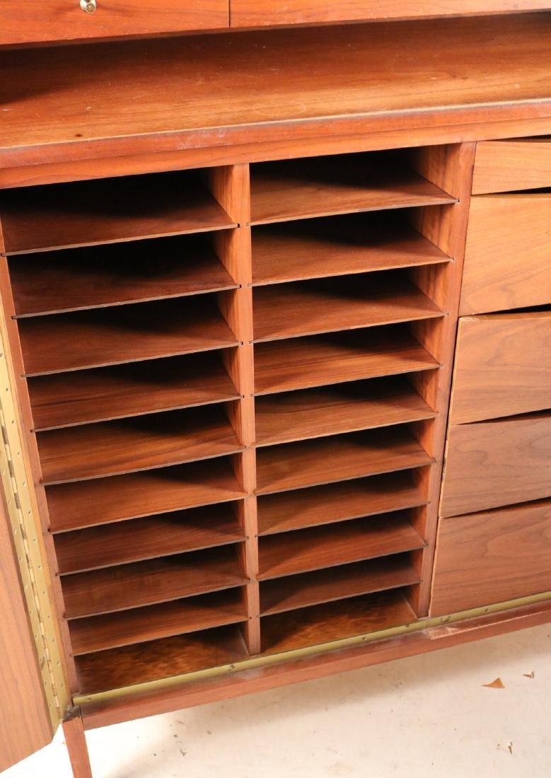 Modern Walnut Cabinet - 8