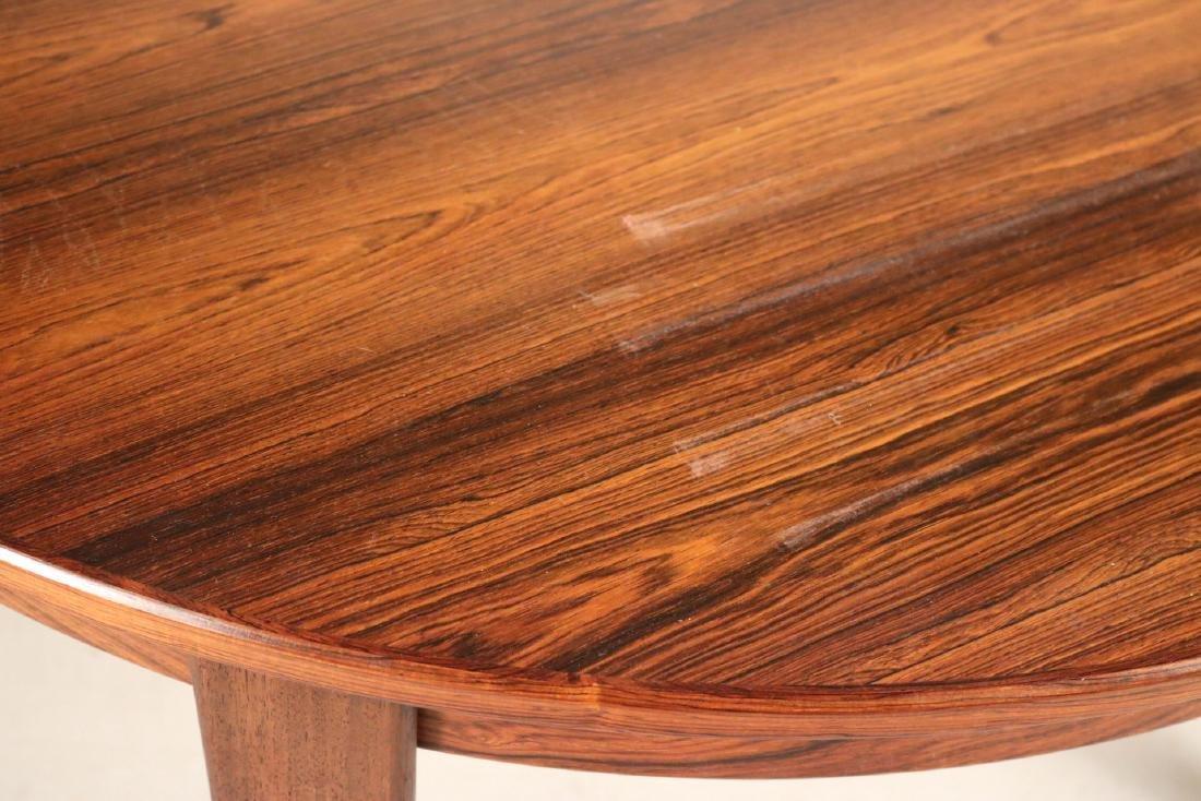 Modern Mahogany Circular Dining Table - 3