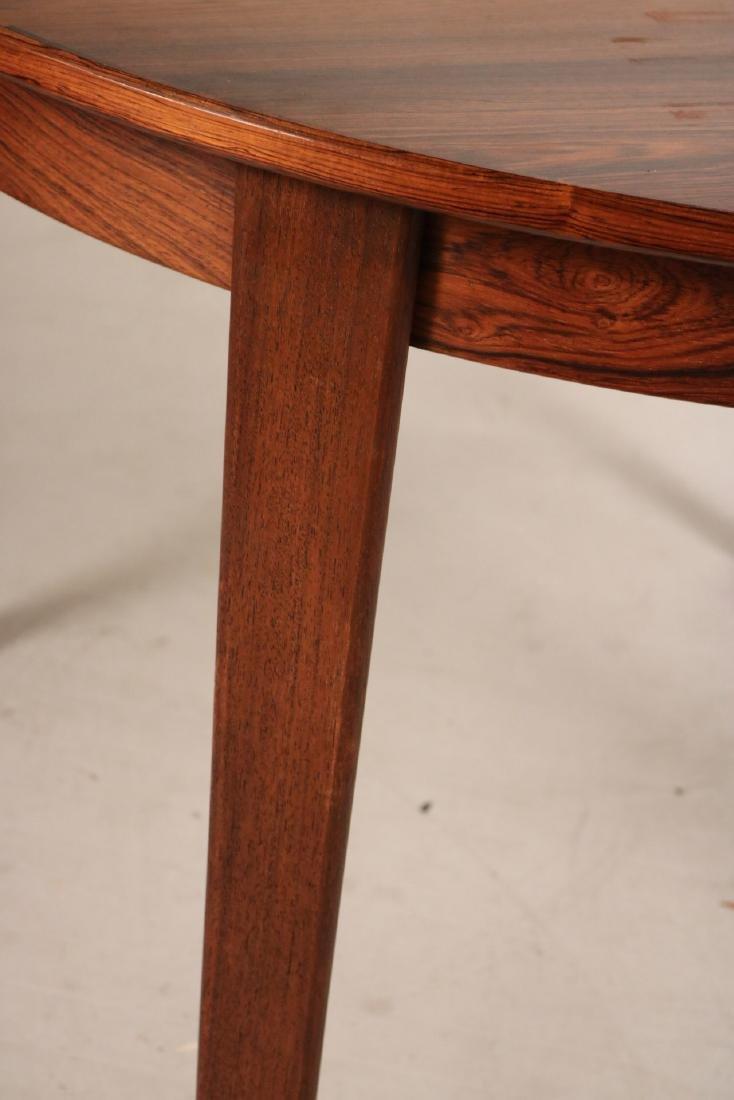 Modern Mahogany Circular Dining Table - 4