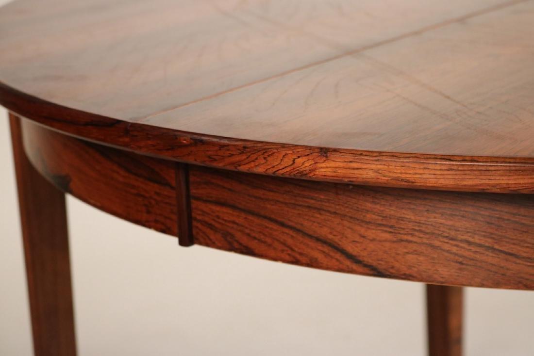 Modern Mahogany Circular Dining Table - 5