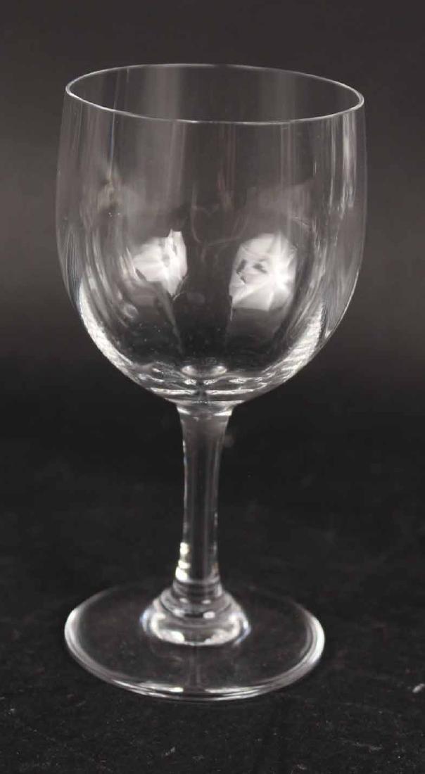 Baccarat Montaigne Pattern Crystal Stemware - 2