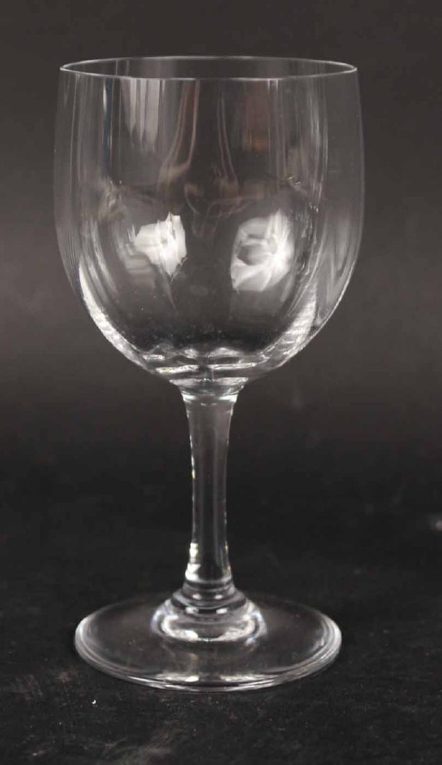 Baccarat Montaigne Pattern Crystal Stemware - 3