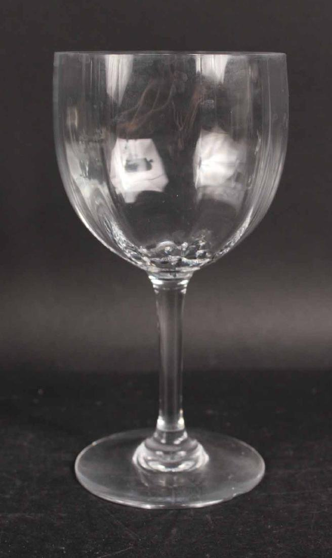 Baccarat Montaigne Pattern Crystal Stemware - 5