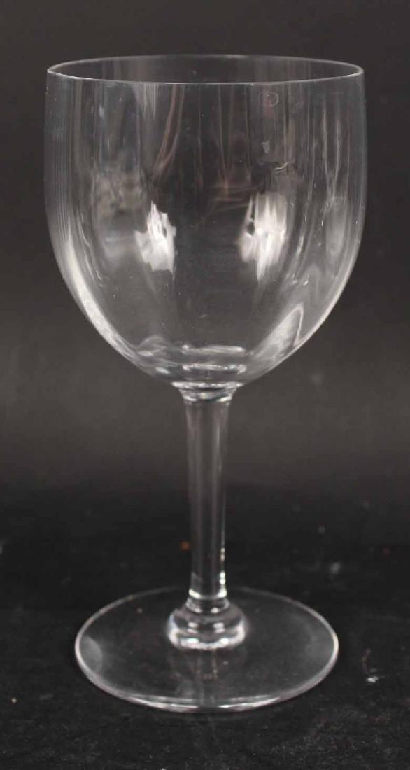Baccarat Montaigne Pattern Crystal Stemware - 6