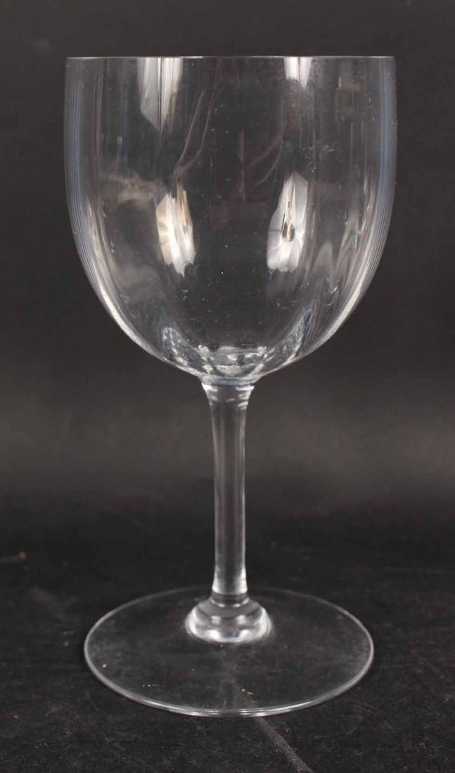 Baccarat Montaigne Pattern Crystal Stemware - 7