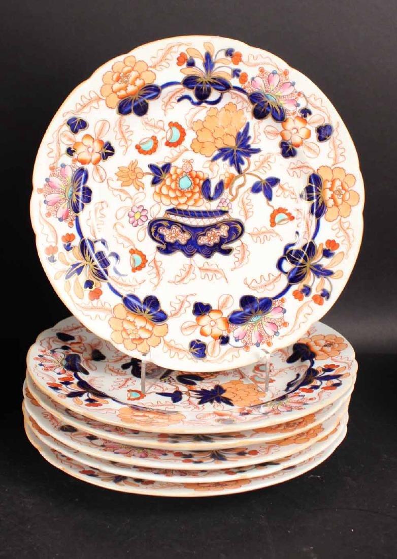 Imari Porcelain Plates - 5