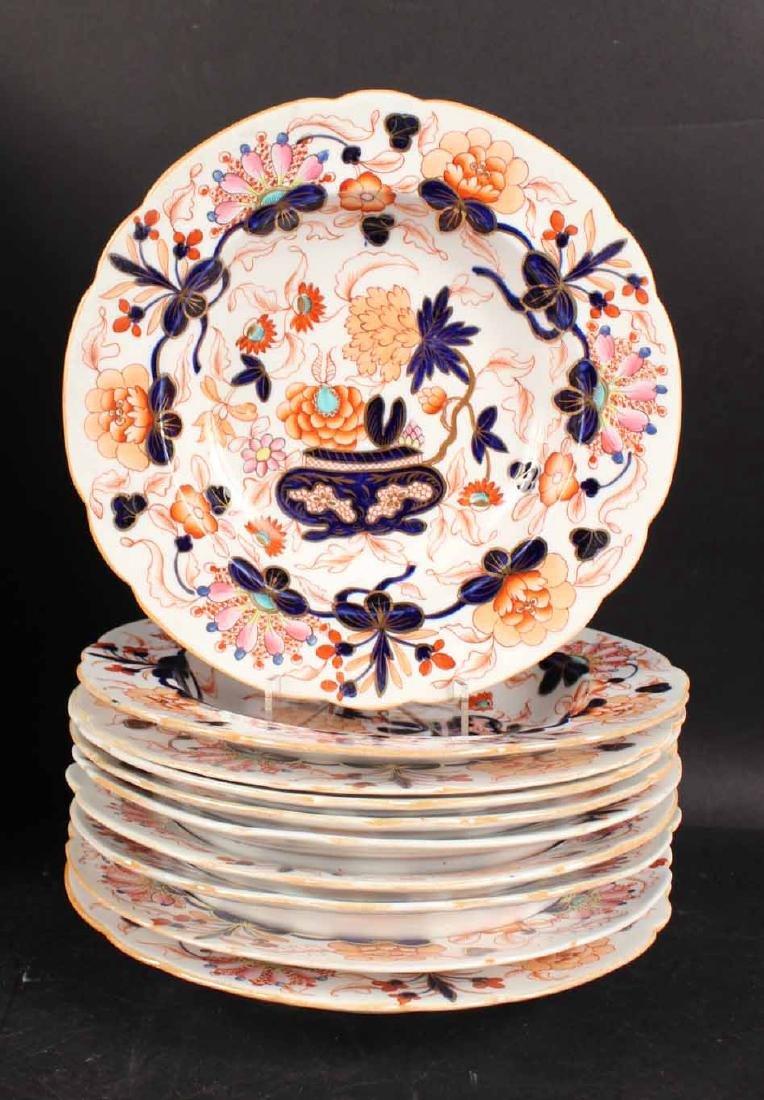 Imari Porcelain Plates - 6