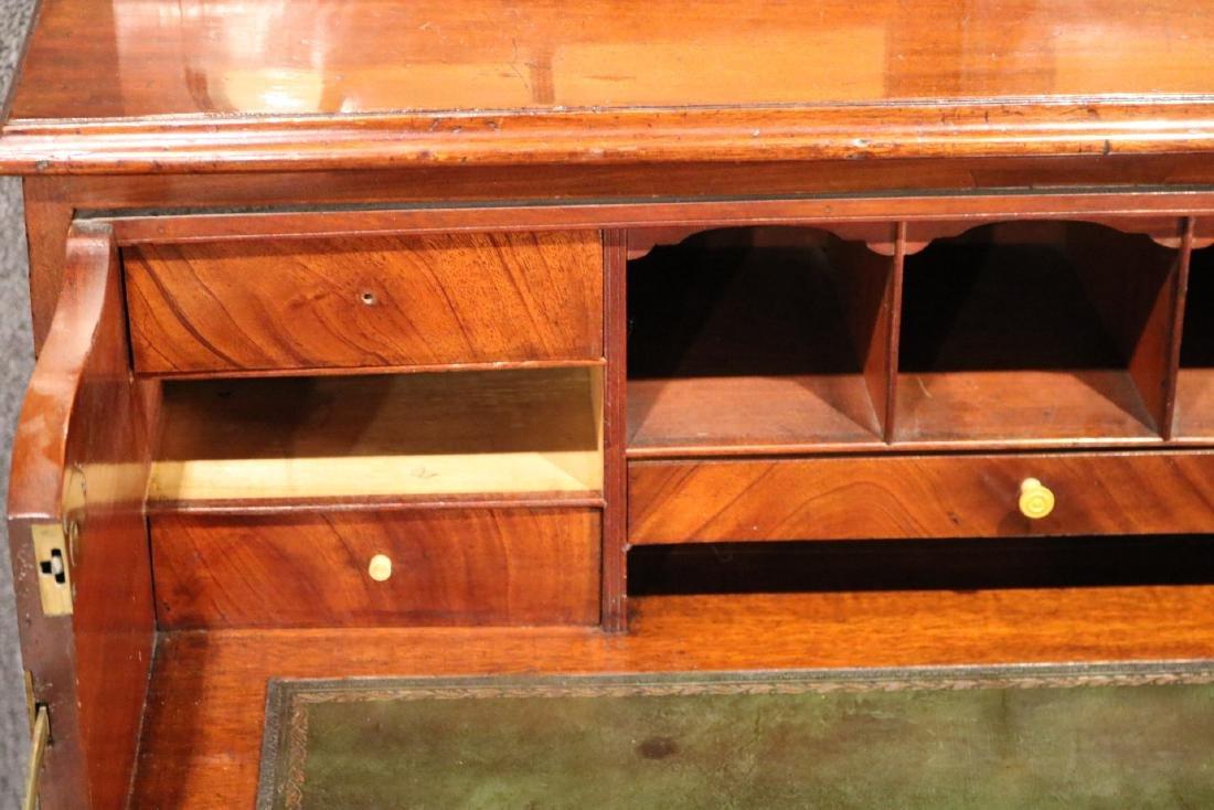 George III Mahogany Secretary Bookcase - 8